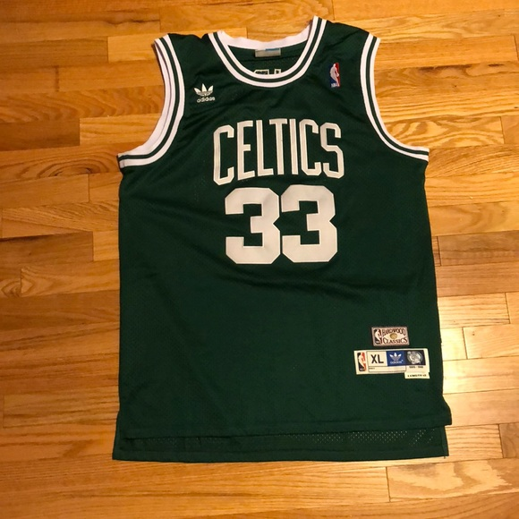 promo code cadc6 b4039 Vintage Larry Bird Boston Celtics Jersey NBA